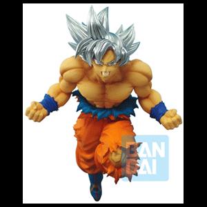 Figura Banpresto Dragon Ball Super: Son Goku Ultra Instinct Z-Battle 16cms