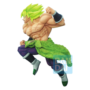 Figura Banpresto Dragon Ball Super: Broly Super Saiyan Fullpower Z-Battle 19cms