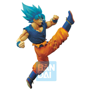 Figura Banpresto Dragon Ball Super: Son Goku Super Saiyan God Z-Battle 16cms