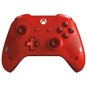 Controller Inalámbrico Microsoft Sport Red Edition