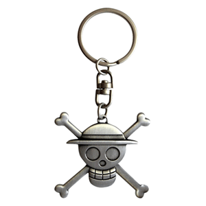 Llavero One Piece: Skull Luffy