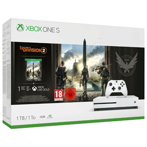 Xbox One S 1TB + Tom Clancy`s The Division 2