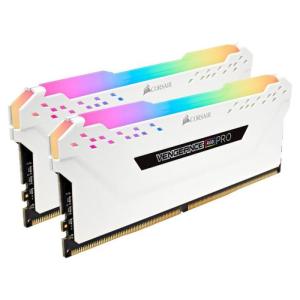 Corsair Vengeance RGB Pro DDR4 3000MHz 16GB (2x8GB) CL15 Blanco - Memoria RAM