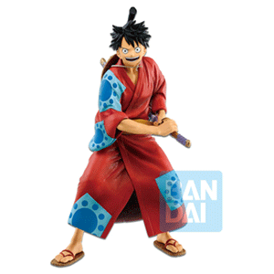 Figura Banpresto One Piece: Monkey D. Luffy Japanese Style