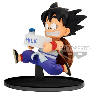 Figura Banpresto Dragon Ball Z World Figure Colosseum: Goku with Milk