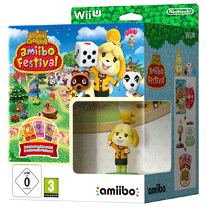 Animal Crossing amiibo Festival + amiibo Canela + 1 Sobre Cartas