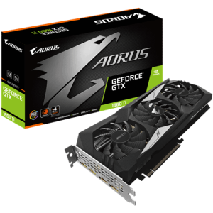 GIGABYTE AORUS GeForce GTX 1660 Ti 6GB GDDR6 - Tarjeta Gráfica Gaming