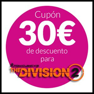 30€ de DTO en The Division 2 -PC-