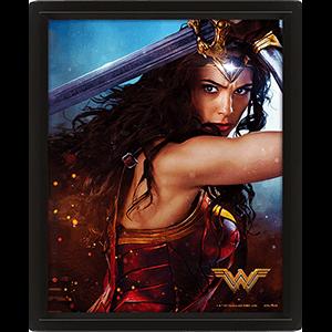 Cuadro 3D Wonder Woman