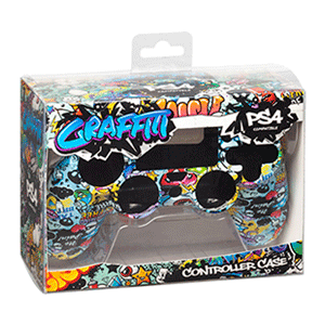 Carcasa para mando PS4 Indeca Graffiti 2019
