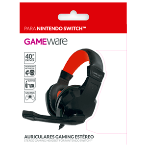 Auriculares Gaming Estéreo GAMEware