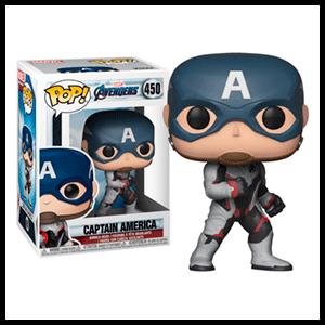 Figura Pop Vengadores Endgame: Capitán América