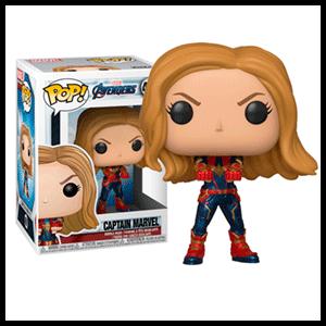 Figura Pop Vengadores Endgame: Capitana Marvel