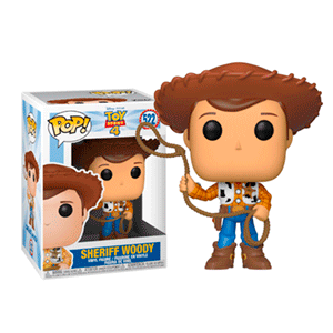Figura Pop Toy Story 4: Sheriff Woody