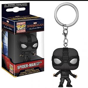 Llavero POP Spiderman: Spiderman Stealh Suit