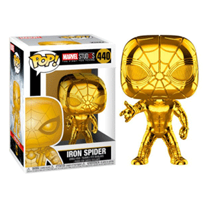Figura Pop Marvel: Spider-Man Chrome