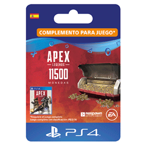 Apex Legends 10,000 (+1500 Bonus) Apex Coins PS4