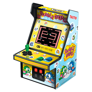 Consola Retro My Arcade Bubble Bobble