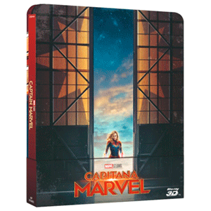 Capitana Marvel Steelbook - 3D + 2D