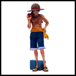 Figura Banpresto One Piece: Luffy Magazine