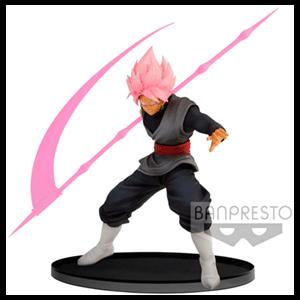 Figura Banpresto Dragon Ball Super: Goku Super Saiyan Rose Black