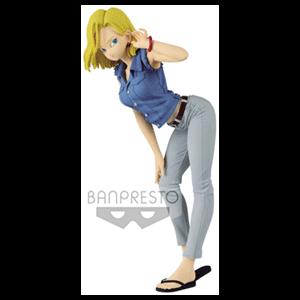 Figura Banpresto Dragon Ball Z: Android C-18 Glitter & Glamour