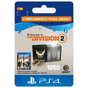Tom Clancy's The Division 2 - 1050 Premium Credits Pack PS4