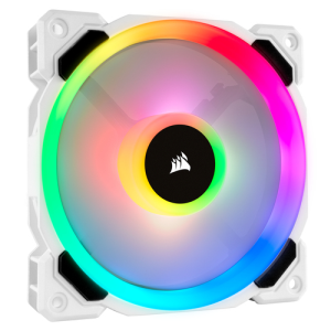 Corsair LL120 RGB Blanco - Ventilador 120mm