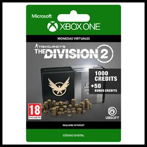 Tom Clancy's The Division 2 - 1050 Premium Credits Pack XONE