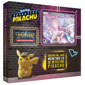 Caja Pokemon GX: Detective Pikachu Case File