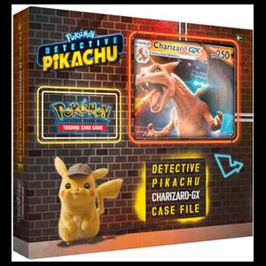 Caja Pokemon GX: Archivo del Caso Charizard Detective Pikachu