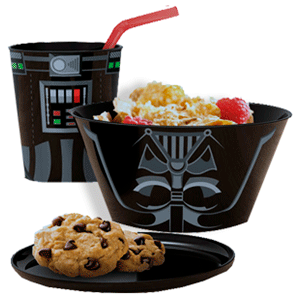 Set Desayuno Star Wars Darth Vader