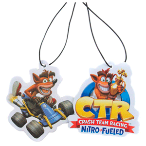 Ambientadores de Coche Crash Team Racing