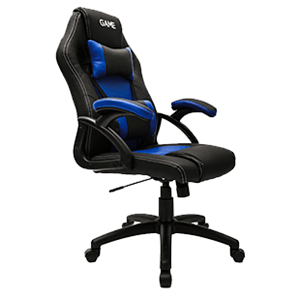 GAME Racing GT100 Azul-Negro Silla Gaming - Reacondicionado