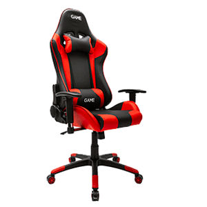 GAME Racing PRO GT300 Rojo-Negro Silla Gaming - Reacondicionado