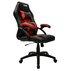 GAME Racing GT100 Rojo-Negro Silla Gaming - Reacondicionado