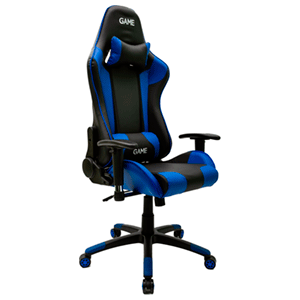 GAME Racing PRO GT300 Azul-Negro Silla Gaming - Reacondicionado