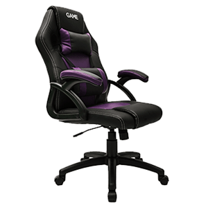 GAME Racing GT100 Morado-Negro - Silla Gaming - Reacondicionado