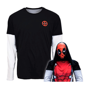 Camiseta Reversible Marvel Deadpool Talla M