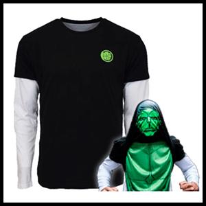 Camiseta Reversible Marvel Hulk Talla M