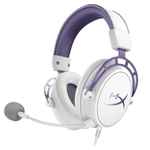 HyperX Cloud Alpha Purple Limited Edition PC-PS4-XONE-SWITCH-MOVIL - Auriculares Gaming