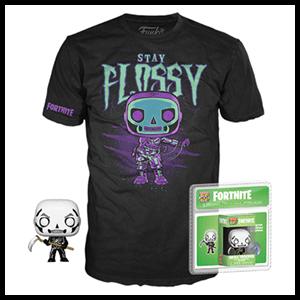 Pack Camiseta y Pocket Pop Fortnite: Skull Trooper Talla M