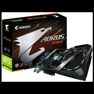 GIGABYTE AORUS GeForce RTX 2080 Ti Xtreme 11GB GDDR6 - Tarjeta Gráfica Gaming - Reacondicionado