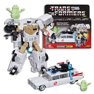Coche Ecto-1 Cazafantasmas Transformers