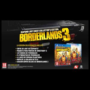 Borderlands 3 Diamond Loot Chest Edición Coleccionista