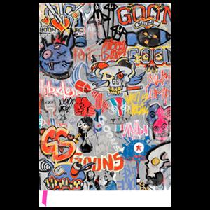 Cuaderno Rage 2 Goon Graffiti