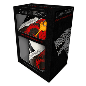 Caja de Regalo Juego de Tronos: Stark y Targaryen