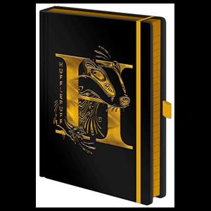 Cuaderno Premium Harry Potter: Hufflepuff