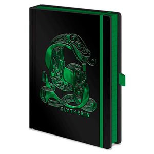 Cuaderno Premium Harry Potter: Slytherin