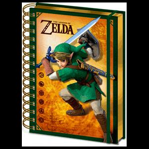 Cuaderno Spiral The Legend of Zelda: Link